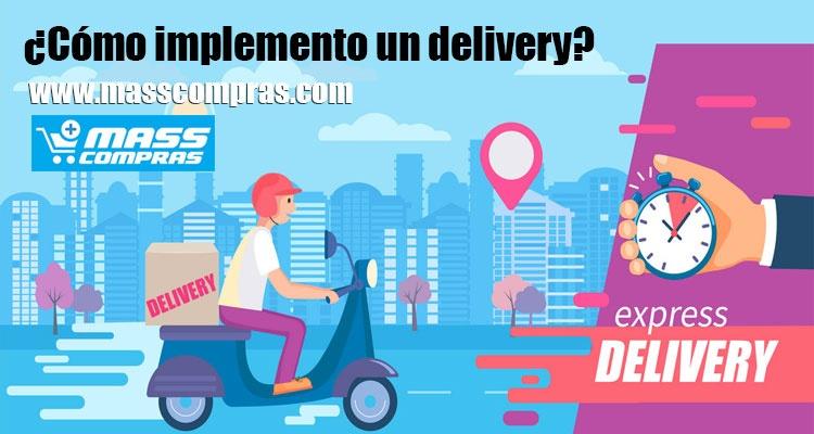 ¿Cómo implemento un delivery?